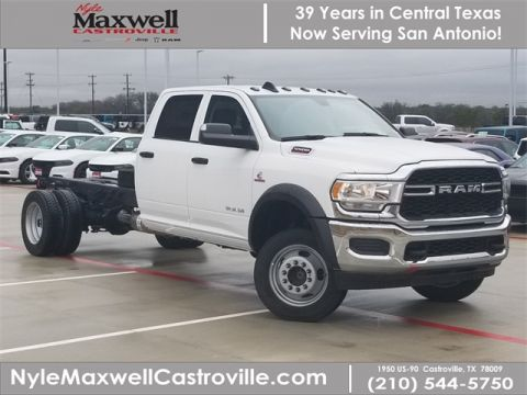 New 2019 RAM 5500 Chassis Cab Tradesman 4x4 Crew Cab
