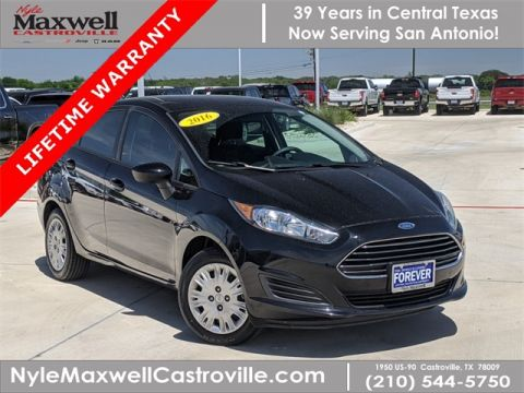 Pre-Owned 2016 Ford Fiesta S FWD 4D Sedan